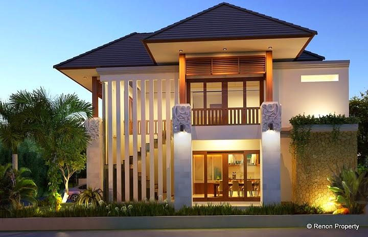 Desain Rumah Minimalis 2 Lantai Luas Tanah 200M2  Gambar