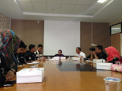 Audiensi bersama Wakil Dekan III Baru Farmasi Unhas