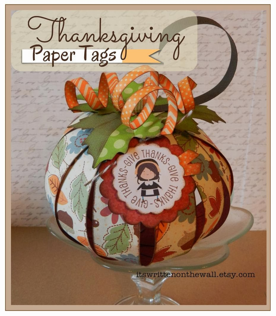 Paper thanksgiving decorations - photo#54