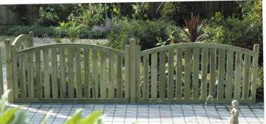 Arch Top Fence Panels Jpg