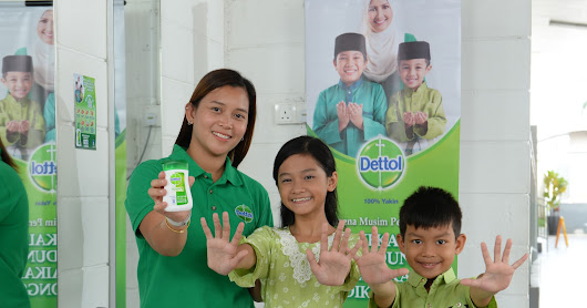 Stay Protected, Goodness Shared With Dettol