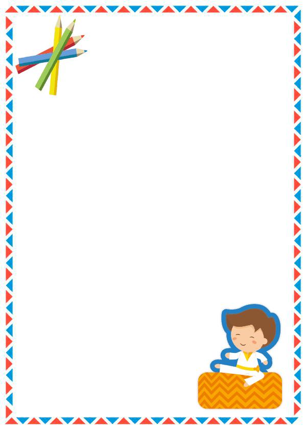 caratulas para cuadernos para niños y niñas de primaria de triangulo