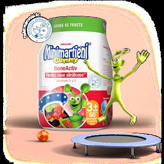 Pareri Forumuri MiniMartieni Complex BoneActive cu Vitaminele D si K
