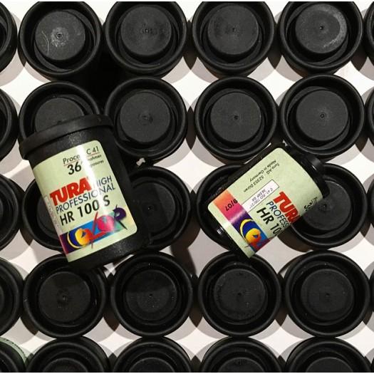 Pellicule Périmée 35mm Per 1989 Couleur 100 Iso Agfa Mini Color