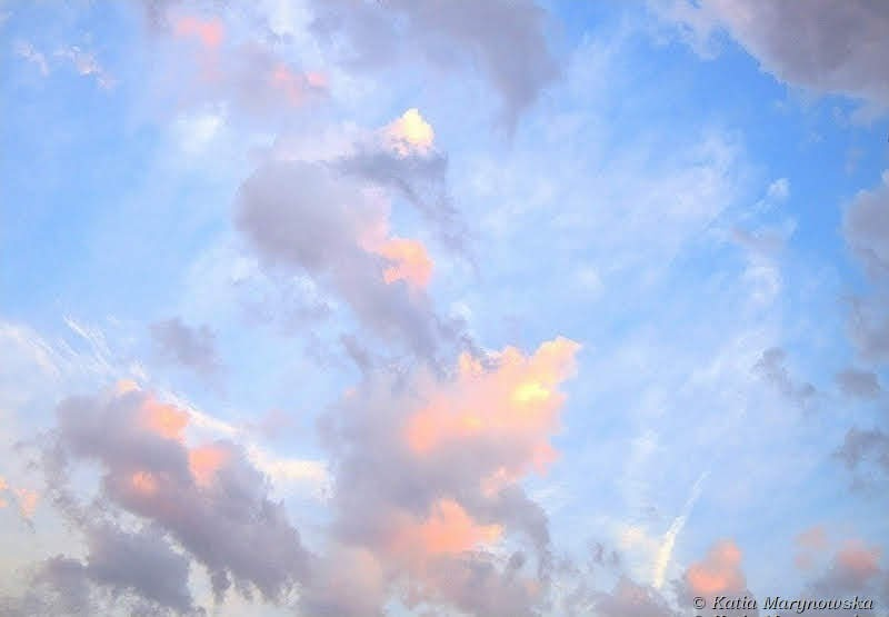 Morning Pink Clouds