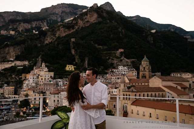 Romantic wedding in Amalfi