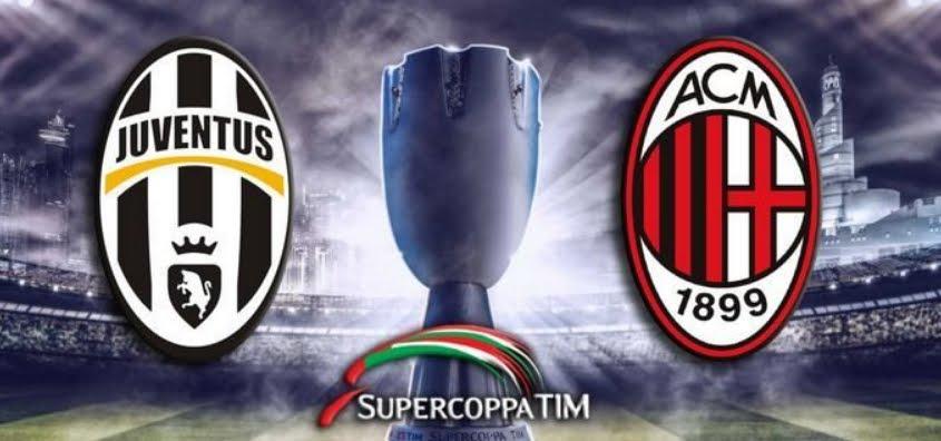 JUVENTUS MILAN Streaming Gratis e Diretta TV, quando e dove vedere la finale di Supercoppa Gedda 2019