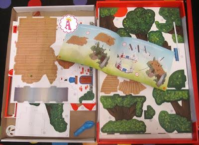 Конструктор домик на дереве из картона