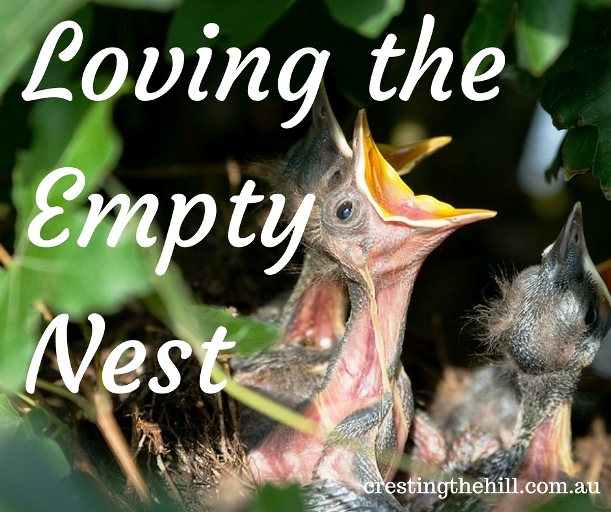 Rather than worrying about the kids leaving home - here is why we're loving our empty nest
