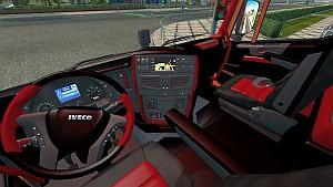 Iveco Hi-Way Red interior mod