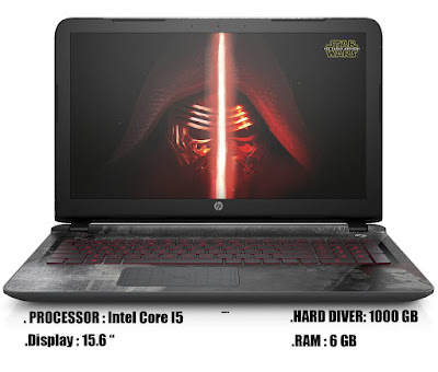 HP star wars 15-an050nr