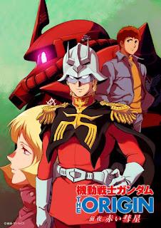 تقرير أنمي البدلة المتنقلة جاندام: الأصل - ظهور المذنب الأحمر Mobile Suit Gundam: The Origin - Advent of the Red Comet