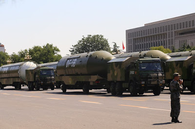 China Tests A New Missile That Can Carry 10 Nuclear Warheads