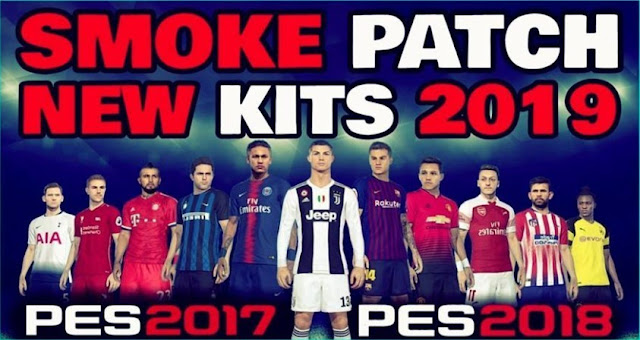 Europe Kitpack 2018-19 For Smoke Patch PES 2017