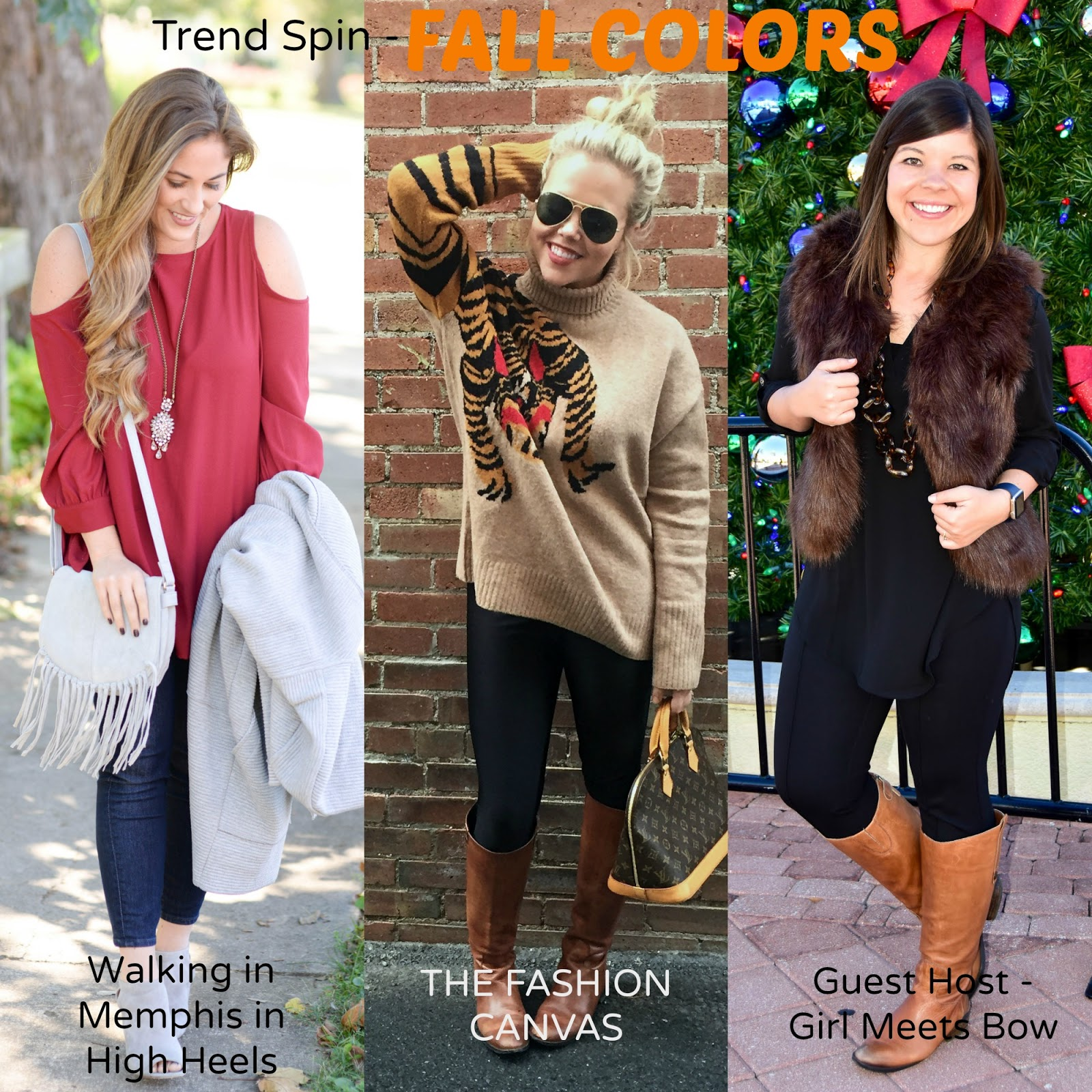 Trend Spin Link Up Co-Host: Fall Colors