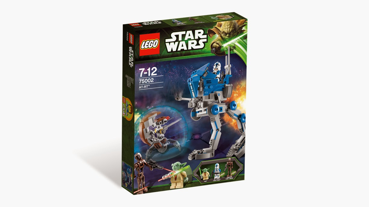 Now Available Amazon.com: AT-RT - LEGO Star Wars 75002