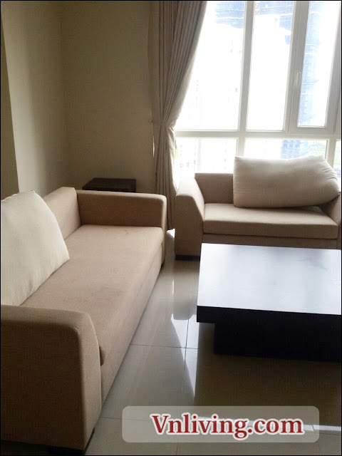 Living room Imperia An Phu apartment 3 bedrooms for rent 131 sqm in Tower A