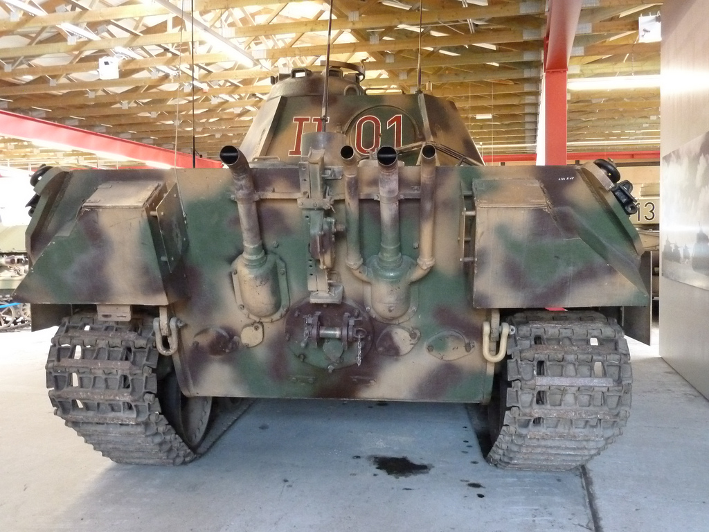 Panzer Befehlswagen Panter version A