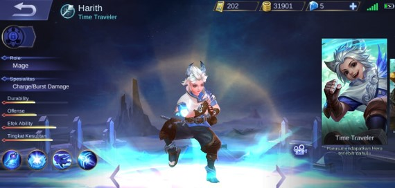 Harith Hero Mobile Legends Overpowered
