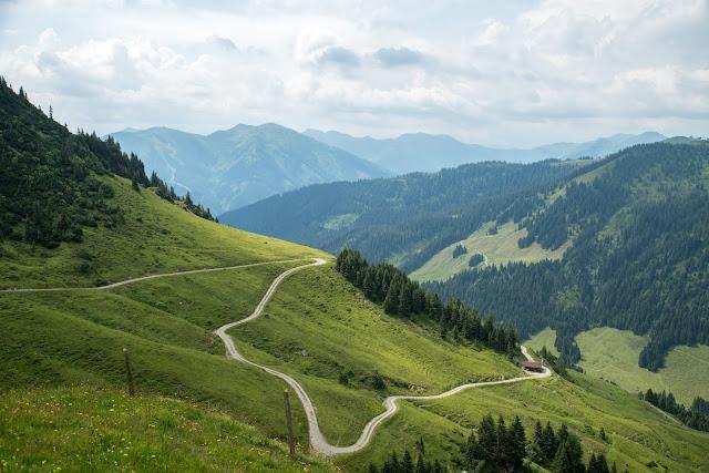Kleberkopf und Spielberghaus  Wandern in Saalbach 07