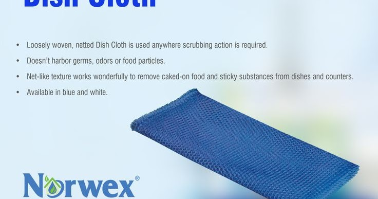 Peace Of Microfiber The Norwex Dish Cloth