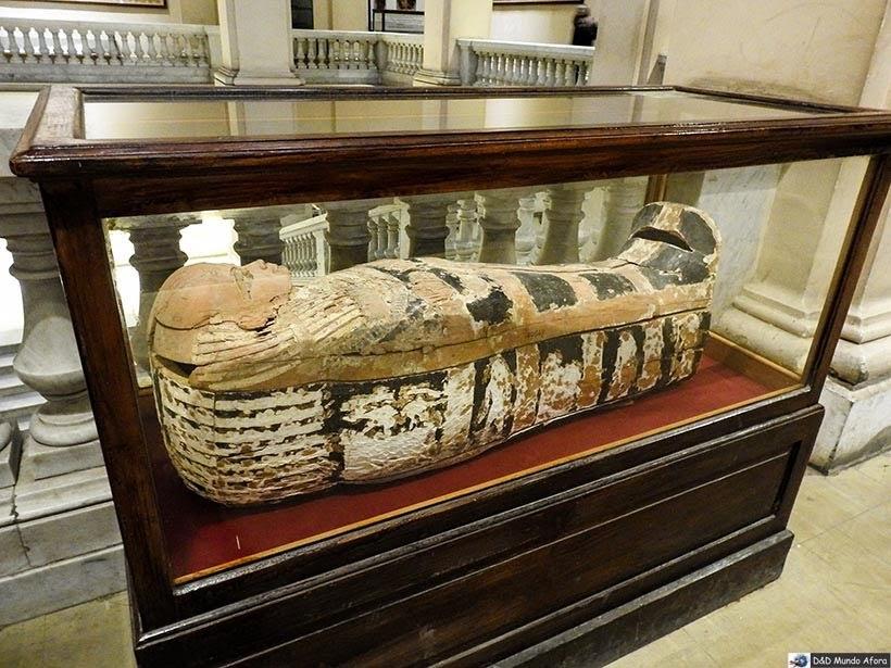 Mais Sarcófagos do Museu do Cairo, Egito