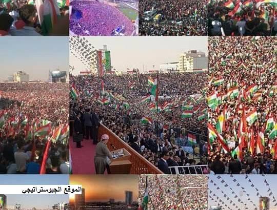 تصارع الاحداث حول إستفتاء إقليم كردستان