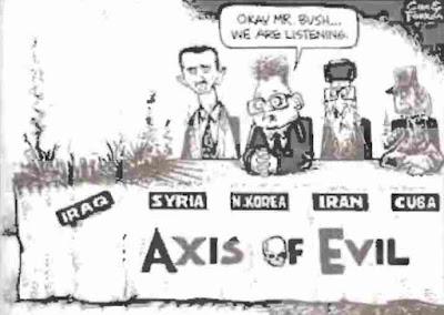 Karikatur Poros Setan