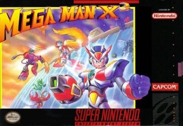 Megaman X3 [Español] - Portada
