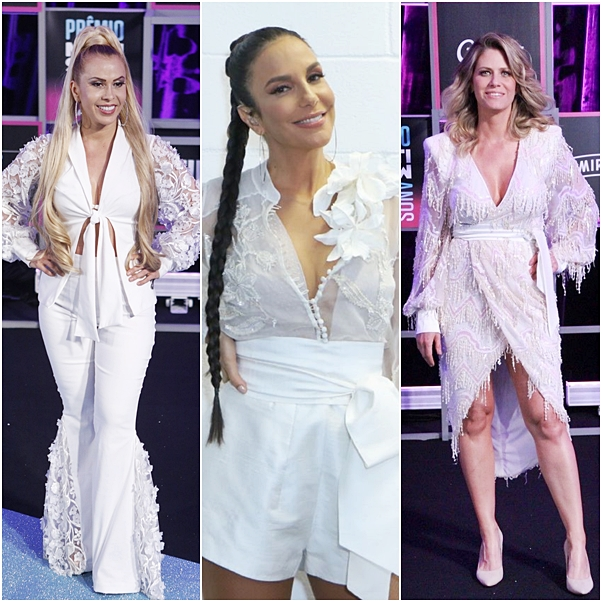 Looks do Prêmio Multishow 2018 ivete sangalo