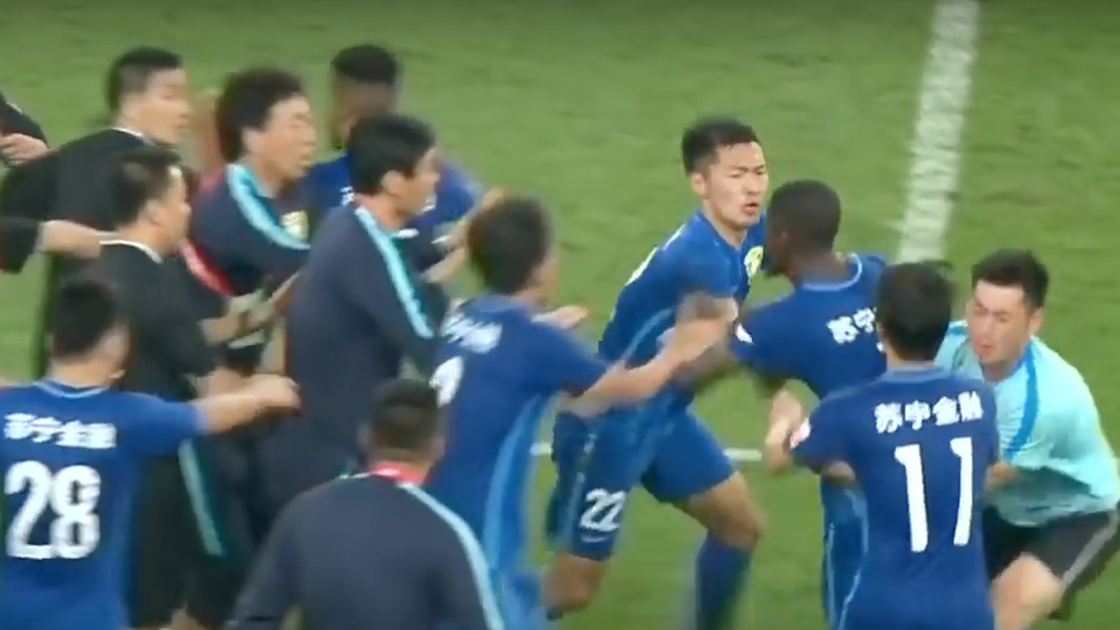 VIDEO Former Chelsea man Ramires tries to referee