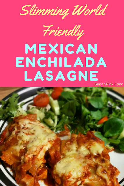 Mexican Enchilada Lasagne slimming world recipe