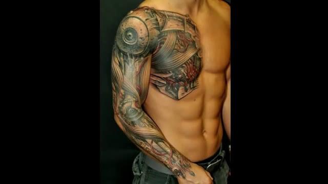 10 tatuagens loucas 3D que vão explodir sua cabaça