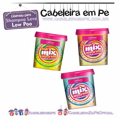 Misturinhas Magic Mix (Nutrição Poderosa, Definição Perfeita, Umectação Sensacional) - Liberados para Low Poo