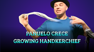 Pañuelo crece, HANDKERCHIEF TRICKS, Growing handkerchief