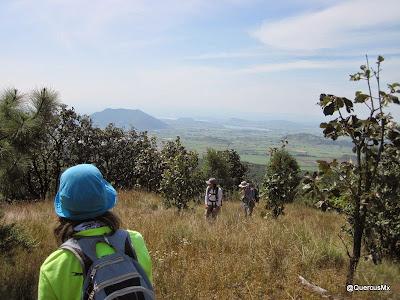 Cerro de Mazatepec visto desde el Cerro San Miguel