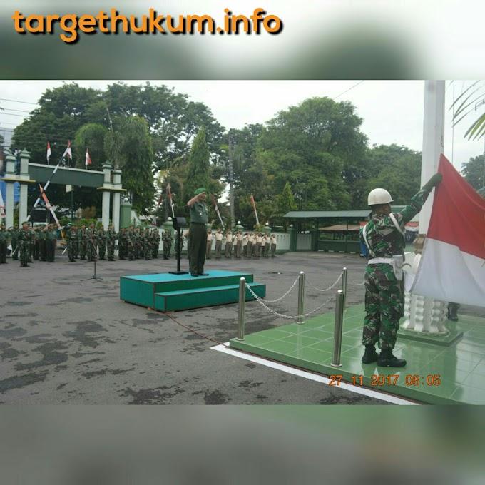 Jiwa Dan Pengabdian Nasionalisme Merah Putih Tertanam Dijajaran Personel Kodim 0718 Pati