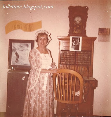 Beverly Anderson and antique switchboard