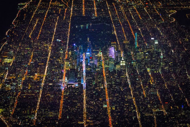 New York City night-time randommusings.filminspector.com