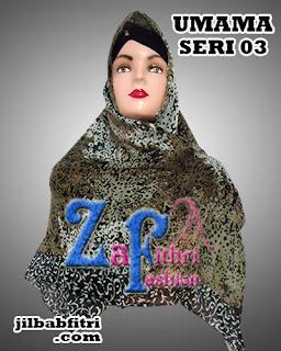 Grosir Jilbab Segi Empat Umama Motif Terbaru