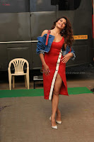Jacqueline Fernandez Spicy Bollywood Actress in Red Dress Spicy  Exlcusive Gallery Pics (14).JPG