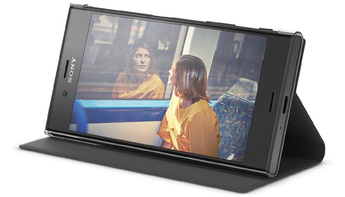 SCSG20は、動画視聴のためのスタンド機能がある