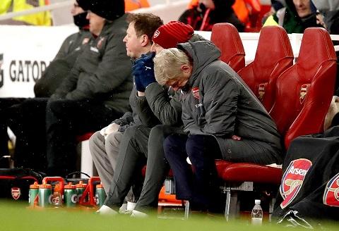 Arsenal từng thua đội bóng ít tên tuổi hơn thời Wenger