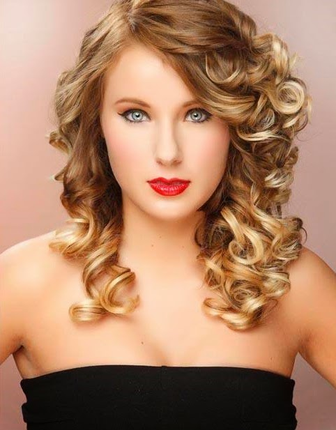 Curly Hairstyles for Prom BEST 2014 - Curly Hairstyles for Prom With Beautiful Face