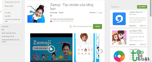 Hướng dẫn tạo Sticker Facebook, Zalo bằng ảnh cá nhân cực độc