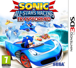 Sonic & All Stars Racing Transformed 3DS CIA USA