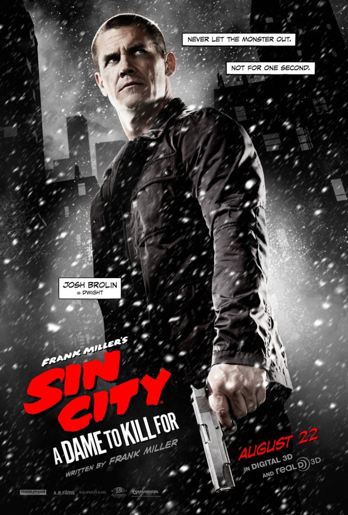 Poster 3: Sin City A Dame to Kill For 2014