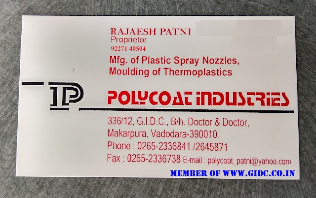 POLYCOAT INDUSTRIES - 9227140504