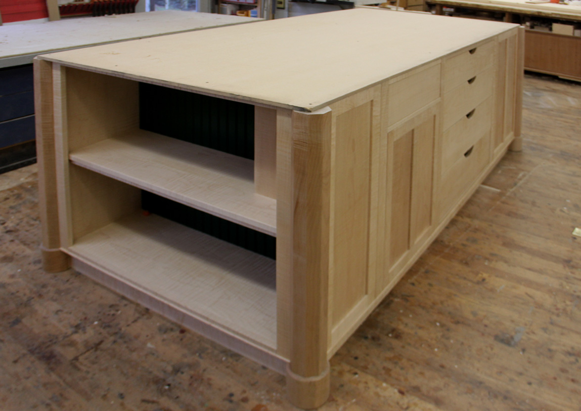 4 stool kitchen island black granite sink dorset custom furniture - a woodworkers photo journal: the ...