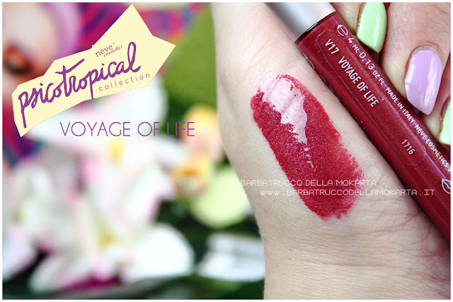 VERNISSAGE GLOSS  voyage of life psicotropical collection neve cosmetic